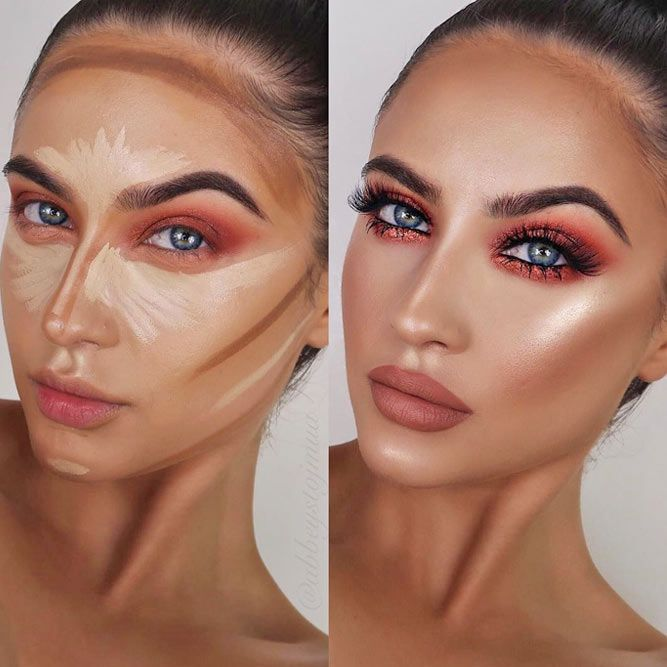 Makeup contouring rules you need to know
